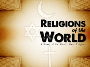 Religions of the World title